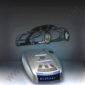 Beltronics RX65i Blue Euro